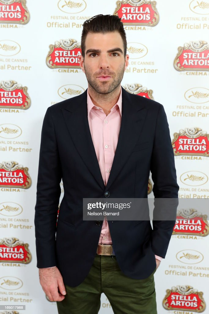 Actor <a gi-track='captionPersonalityLinkClicked' href=/galleries/search?phrase=Zachary+Quinto&family=editorial&specificpeople=715956 ng-click='$event.stopPropagation()'>Zachary Quinto</a> visits The Stella Artois Suite during The 66th Annual Cannes Film Festival at Radisson Blu on May 23, 2013 in Cannes, France.