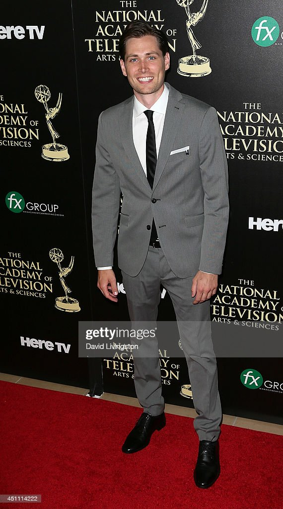 Actor Zack Conroy attends the 41st Annual Daytime Emmy Awards at The Beverly Hilton Hotel on June 22, 2014 in Beverly Hills, California.