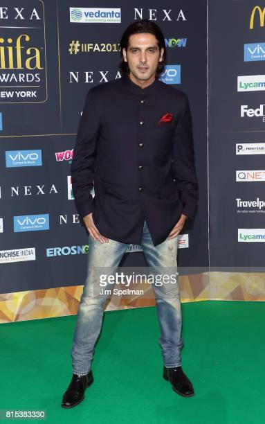 Actor Zaheed Khan attends the 2017 International Indian Film Academy Festival at MetLife Stadium on July 14 2017 in East Rutherford New Jersey