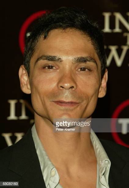 Actor Zahn McClarnon attends the premiere of 'Into the West' at the Museum of Natural History on June 6 2005 in New York City
