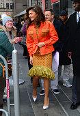 Celebrity Sightings in New York City - December 11, 2017