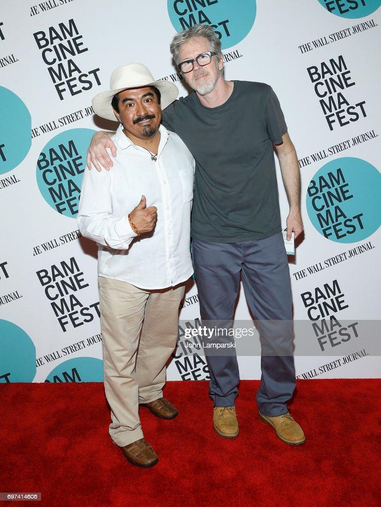 Actor Zenin Zeferino and director Jim McKay attend 'En El Septimo Dia' centerpiece screening during BAMcinemaFest 2017 at BAM Harvey Theater on June 18, 2017 in New York City.