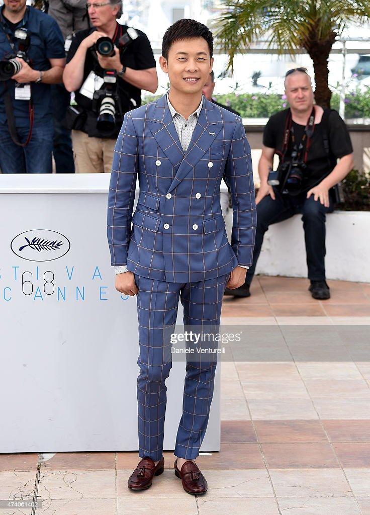 """""""Shan He Gu Ren"""" Photocall - The 68th Annual Cannes Film Festival"""