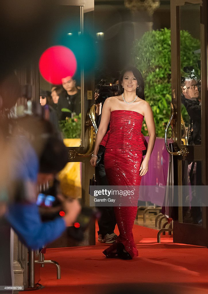 Actor Zhang Ziyi attends the Awards Ceremony during the last day of the 56th Asia Pacific Film Festival at The Venetian Hotel and Casino on December 15, 2013 in Macao, China.