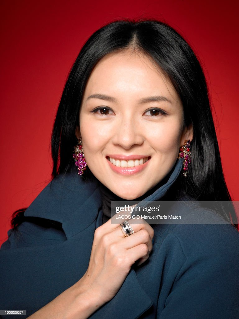 Actor Zhang Ziyi is photographed for Paris Match on February 4, 2013 in Paris, France.