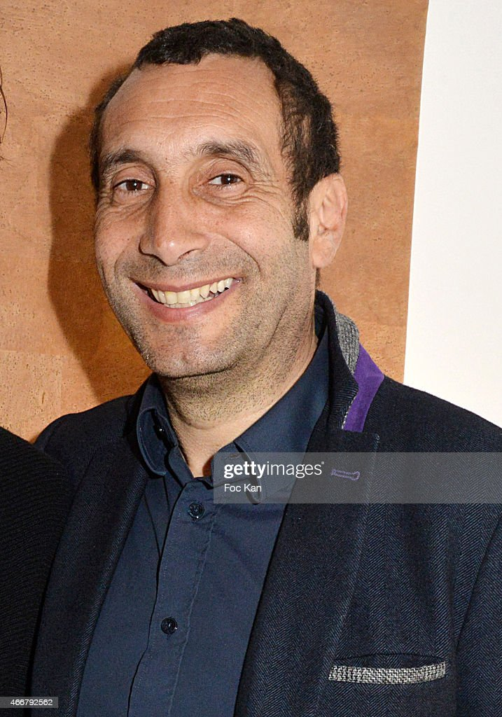 Actor <a gi-track='captionPersonalityLinkClicked' href=/galleries/search?phrase=Zinedine+Soualem&family=editorial&specificpeople=628313 ng-click='$event.stopPropagation()'>Zinedine Soualem</a> attends the Basus Cocktail at Le Perchoir on March 18, 2015 in Paris, France.