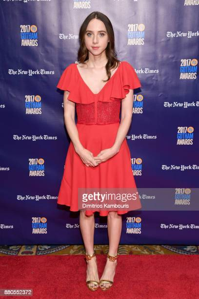 Actor Zoe Kazan attends IFP's 27th Annual Gotham Independent Film Awards on November 27 2017 in New York City