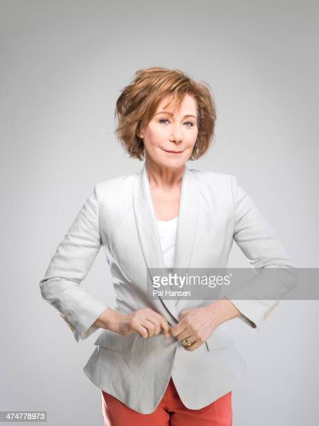 Actor Zoe Wanamaker is photographed for Saga on February 28 2013 in London England