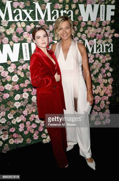 Actor Zoey Deutch and Max Mara's Nicola Maramotti attend Max Mara Celebration of Zoey Deutch as The 2017 Women In Film Max Mara Face of The Future...