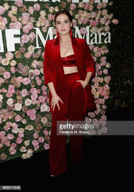 Actor Zoey Deutch attends Max Mara Celebration of Zoey Deutch as The 2017 Women In Film Max Mara Face of The Future Award Recipient at Chateau...