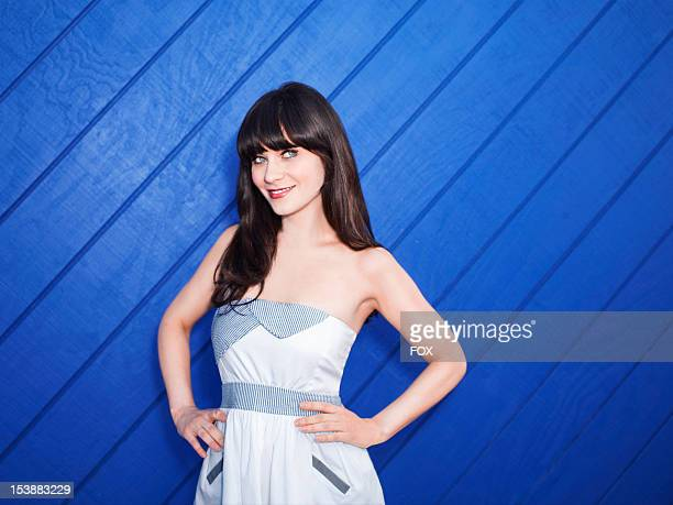 Actor Zooey Deschanel as 'Jess' on Season Two of NEW GIRL airing Tuesdays on FOX