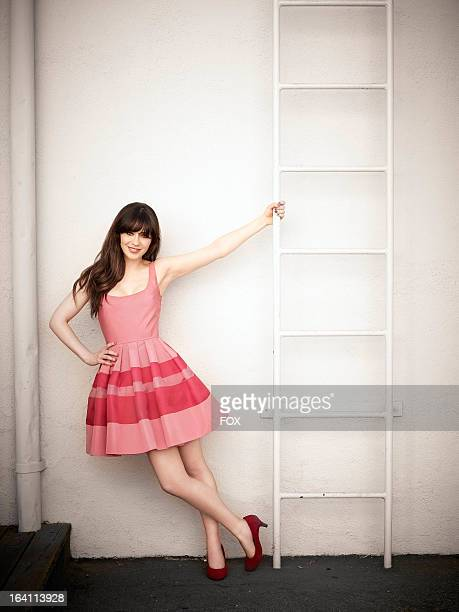 Actor Zooey Deschanel during a gallery portrait session for FOX's 'New Girl' Season 2 Show airs Tuesdays 900930 PM ET/PT