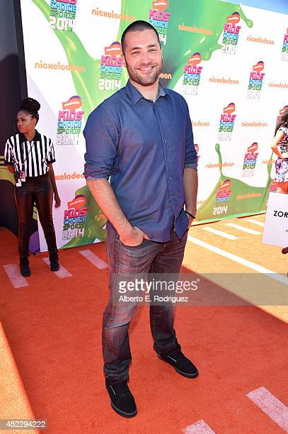 Actor Zoran Korach attends Nickelodeon Kids' Choice Sports Awards 2014 at UCLA's Pauley Pavilion on July 17 2014 in Los Angeles California
