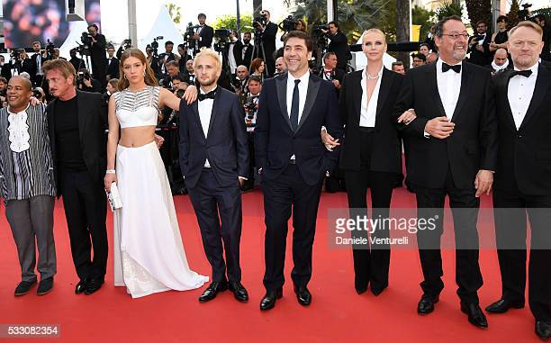 Actor Zubin Cooper director Sean Penn actress Adele Exarchopoulos actor Hopper Penn actor Javier Bardem actress Charlize Theron actor Jean Reno and...