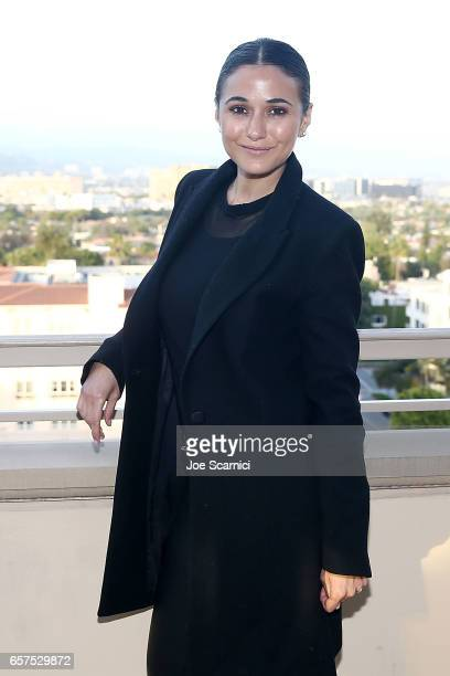 Actor/activist Emmanuelle Chriqui attends the Inaugural EMA Impact Summit party at Montage Beverly Hills on March 24 2017 in Beverly Hills California