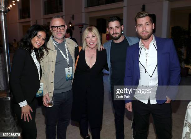 Actor/activist Emmanuelle Chriqui WME Executive VP of Branded Impact Seth Matlin President/CEO of EMA Debbie Levin actor Michael Turchin and...