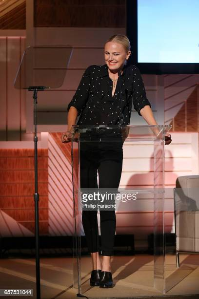 Actor/activist Malin Akerman attends the EMA Impact Summit at Montage Beverly Hills on March 24 2017 in Beverly Hills California