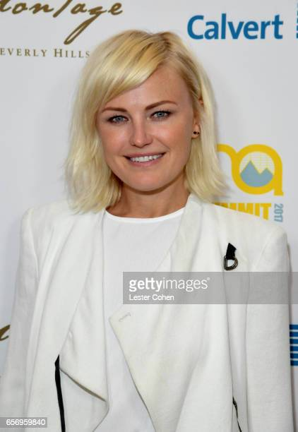 Actor/activist Malin Akerman attends the EMA IMPACT Summit hosted by the Environmental Media Association presented by Toyota Mirai and Calvert...