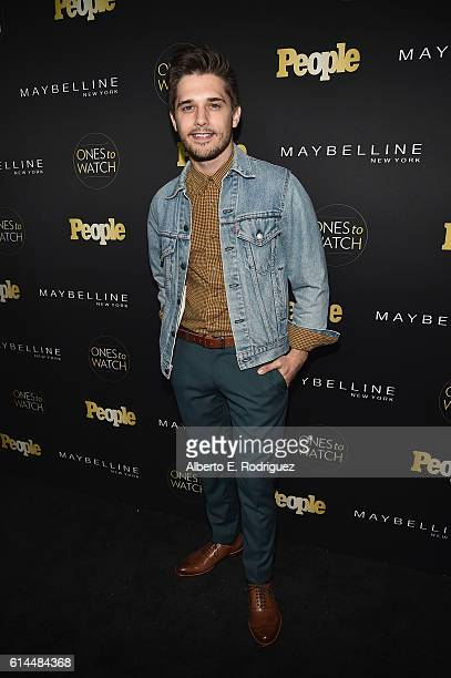 ActorAndy Mientus attends People's 'Ones to Watch' event presented by Maybelline New York at EP LP on October 13 2016 in Hollywood California