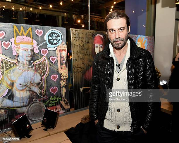 Actor/artisit Jordi Molla attends Gansevoort Meatpacking NYC presents Domingo Zapata's 'Amigos Intervention' at Gansevoort Meatpacking District on...