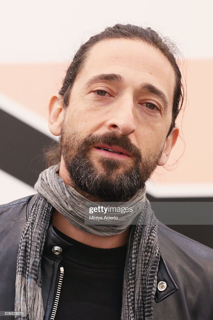 New York - VIP Preview | Getty Images Adrien Brody Art