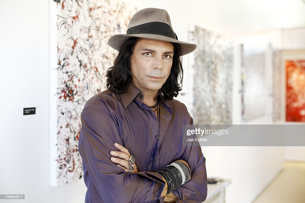 Actor/artist Richard Grieco Hosts Opening Night Gala For His One-Man Art Exhibit 'Sanctum Of A Dreamer!' at Gallerie Sparta on August 15, 2013 in West Hollywood, California.