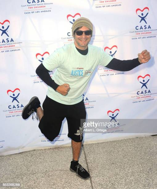 Actor/artist/musician Neil D'Monte participates in the 10th Annual Justice Jog 5/10K Run Walk Hosted By GLAALA held on September 24 2017 in Century...