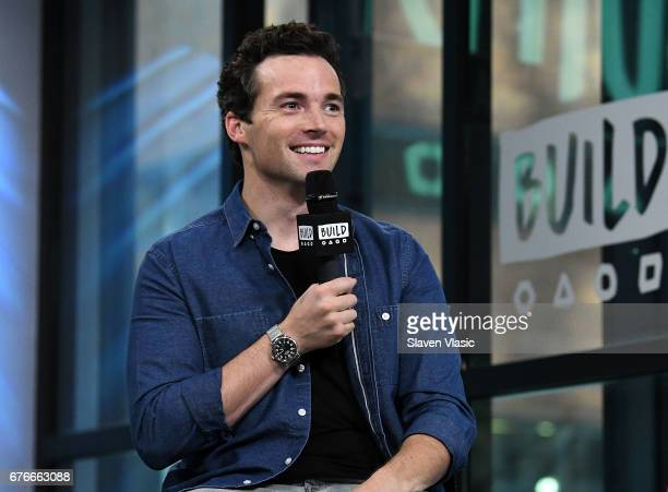 Actor/author Ian Harding visits Build Series to discuss his new book 'Odd Birds' at Build Studio on May 2 2017 in New York City