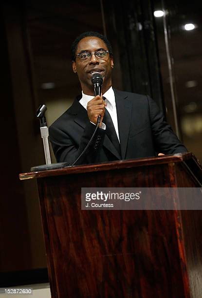 Actor/author Isaiah Washington host the 8th Annual African American Literary Awards at Melba's Harlem on September 27 2012 in New York City