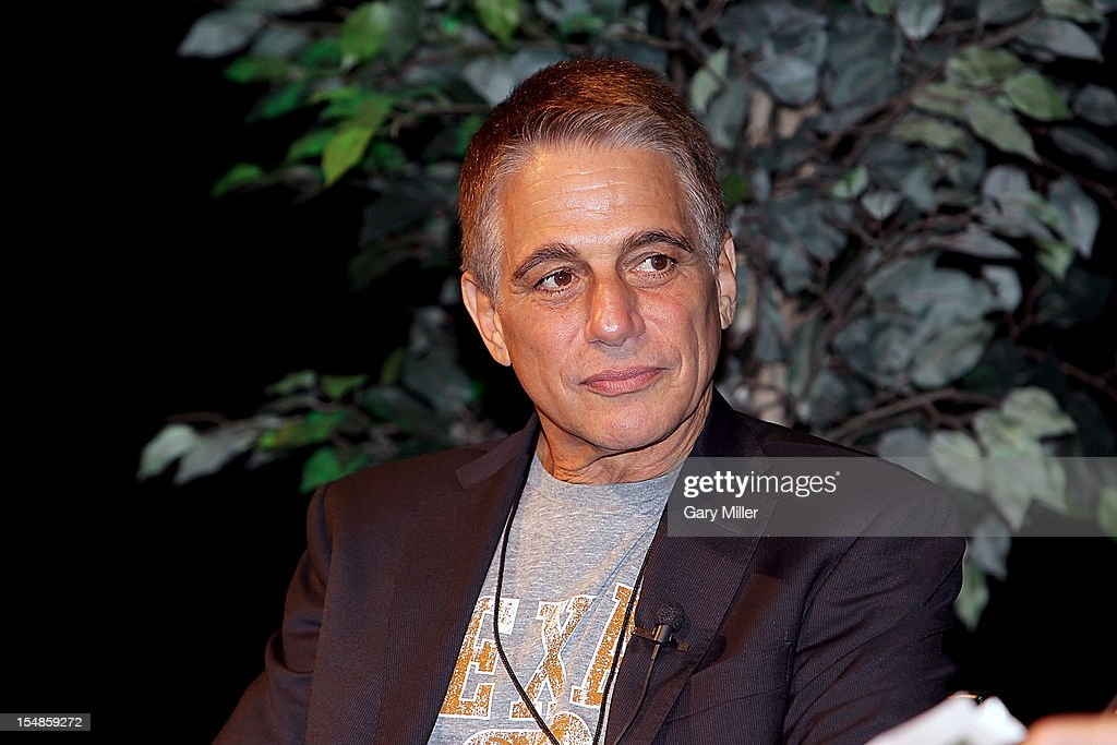 Actor/author <a gi-track='captionPersonalityLinkClicked' href=/galleries/search?phrase=Tony+Danza&family=editorial&specificpeople=203133 ng-click='$event.stopPropagation()'>Tony Danza</a> speaks about his new book 'I'd Like to Apologize to Every Teacher I Ever Had: My Year as a Rookie Teacher at Northeast High' during the Texas Book Festival at the Paramount Theater on October 27, 2012 in Austin, Texas.