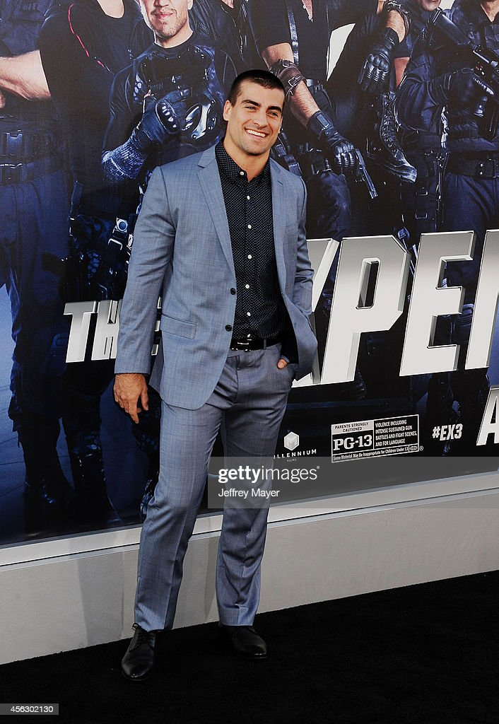 Actor/boxer Thomas Canestraro arrives at the 'Sin City: A Dame To Kill For' - Los Angeles Premiere at TCL Chinese Theatre on August 19, 2014 in Hollywood, California.