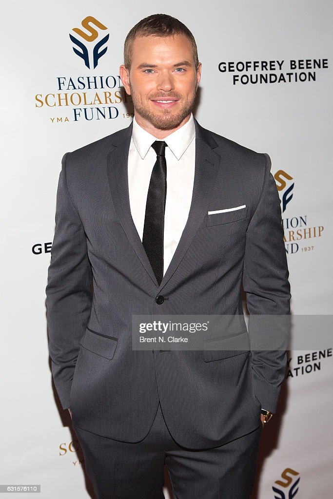 Actor/Brand Ambassador for Geoffrey Beene Kellan Lutz attends the 80th Annual YMA Fashion Scholarship Fund Geoffrey Beene National Scholarship Awards held at the Grand Hyatt New York on January 12, 2017 in New York City.