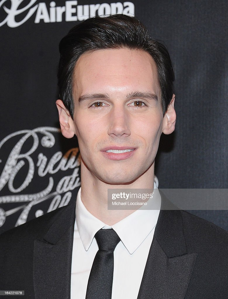 Actor/cast member Cory Michael Smith attends the 'Breakfast At Tiffany's' Broadway Opening Night after party at The Edison Ballroom on March 20, 2013 in New York City.