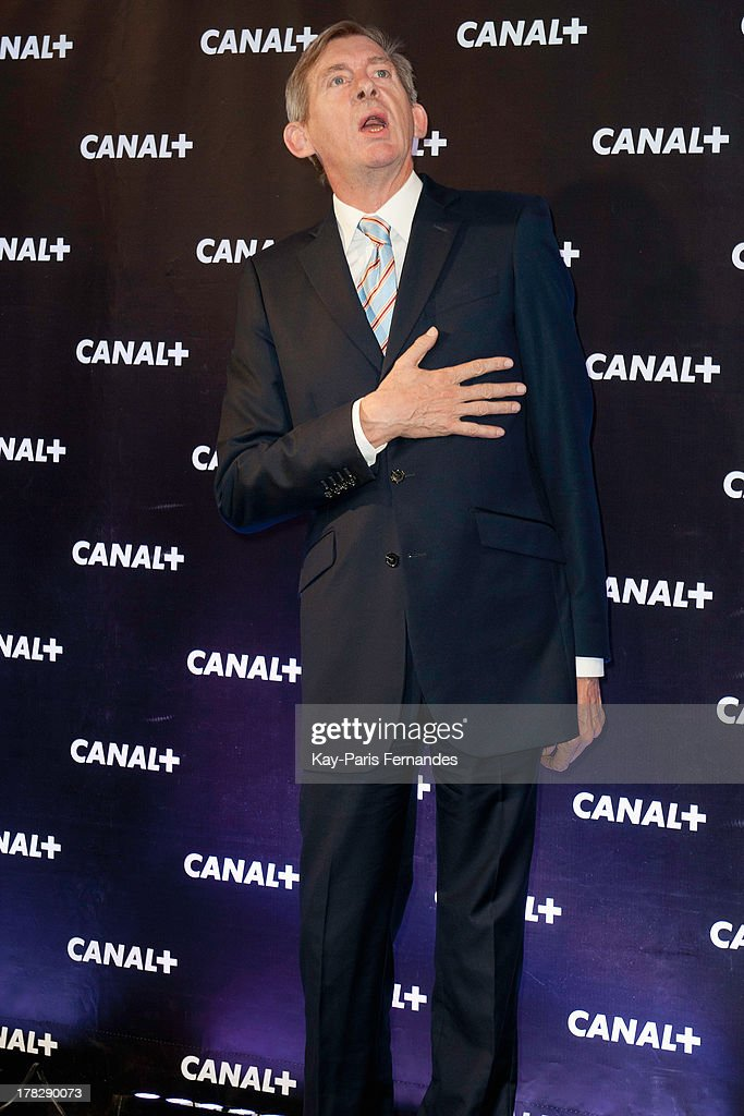 ActorÊChristophe Salengro at the 'Rentree De Canal +' photocall at Porte De Versailles on August 28, 2013 in Paris, France.