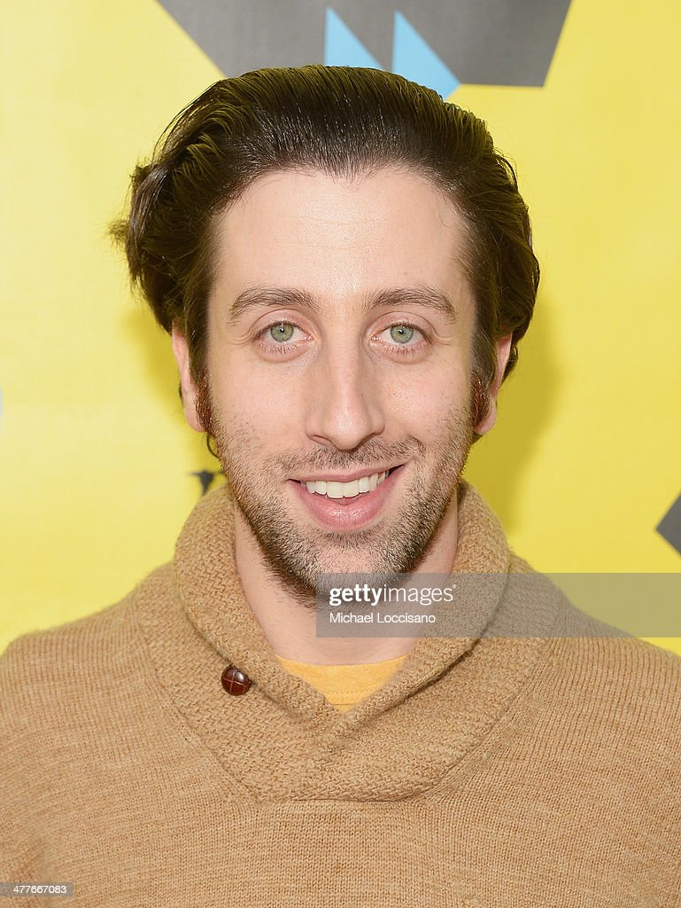 Actor/co-director <a gi-track='captionPersonalityLinkClicked' href=/galleries/search?phrase=Simon+Helberg&family=editorial&specificpeople=3215017 ng-click='$event.stopPropagation()'>Simon Helberg</a> attends the 'We'll Never Have Paris' premiere during the 2014 SXSW Music, Film + Interactive Festival at the Topfer Theatre at ZACH on March 10, 2014 in Austin, Texas.