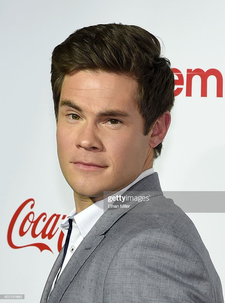 Actor/comedian Adam DeVine, one of the recipients of the Comedy Stars of the Year Award, attends the CinemaCon Big Screen Achievement Awards brought to you by the Coca-Cola Company at Omnia Nightclub at Caesars Palace during CinemaCon, the official convention of the National Association of Theatre Owners, on April 14, 2016 in Las Vegas, Nevada.