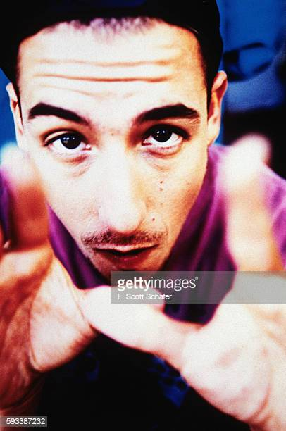Actor/comedian Adam Sandler is photographed for Entertainment Weekly in January 1994