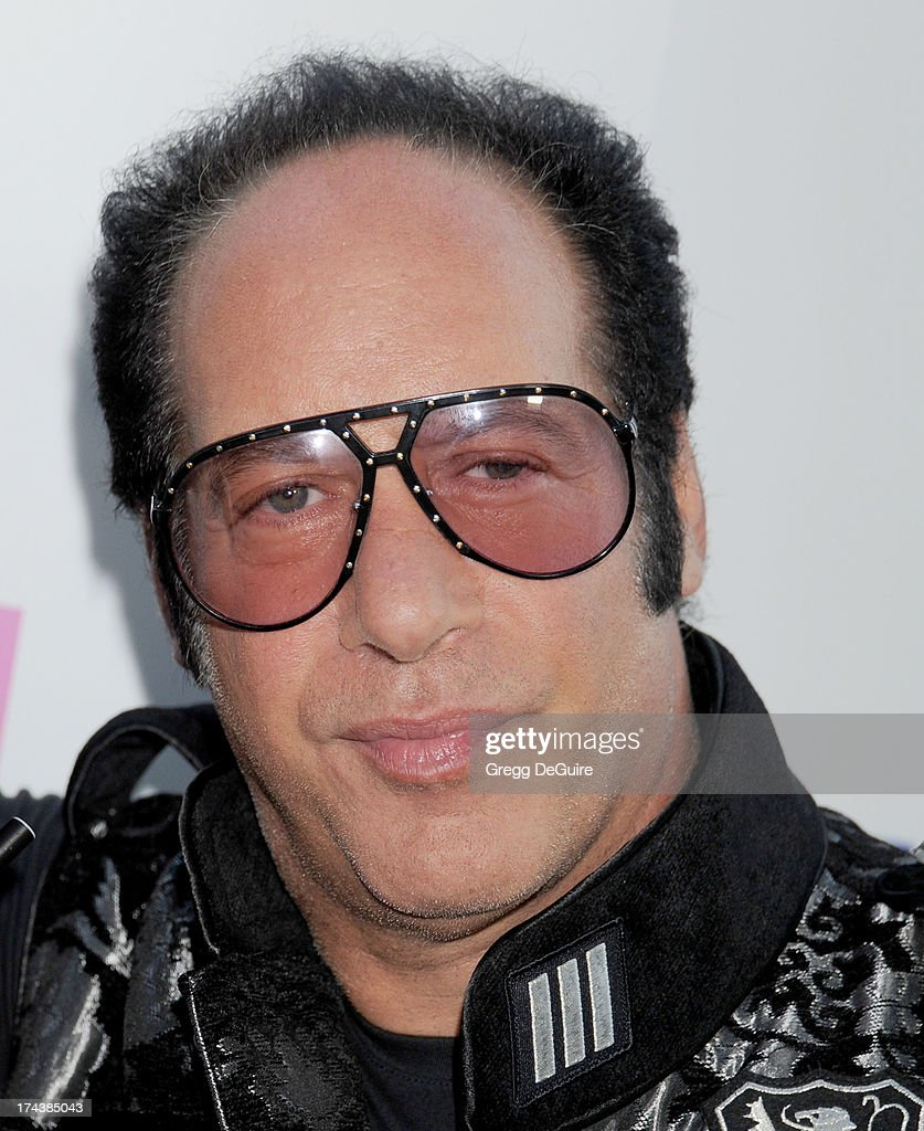 Actor/comedian Andrew Dice Clay arrives at the Los Angeles premiere of 'Blue Jasmine' at the Academy of Motion Picture Arts and Sciences on July 24, 2013 in Beverly Hills, California.