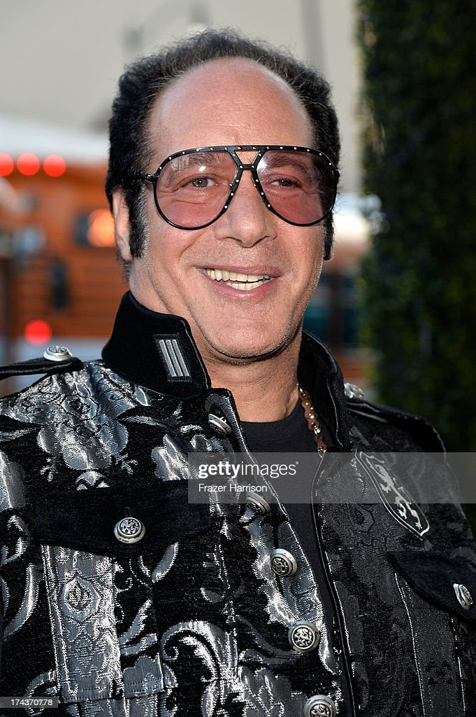 Actor/comedian <a gi-track='captionPersonalityLinkClicked' href=/galleries/search?phrase=Andrew+Dice+Clay&family=editorial&specificpeople=678985 ng-click='$event.stopPropagation()'>Andrew Dice Clay</a> arrives at the premiere of 'Blue Jasmine' hosted by AFI & Sony Picture Classics at AMPAS Samuel Goldwyn Theater on July 24, 2013 in Beverly Hills, California.