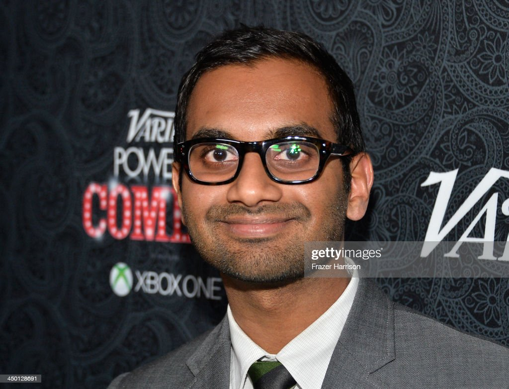 Actor/comedian <a gi-track='captionPersonalityLinkClicked' href=/galleries/search?phrase=Aziz+Ansari&family=editorial&specificpeople=4266146 ng-click='$event.stopPropagation()'>Aziz Ansari</a> attends Variety's 4th Annual Power of Comedy presented by Xbox One benefiting the Noreen Fraser Foundation at Avalon on November 16, 2013 in Hollywood, California.
