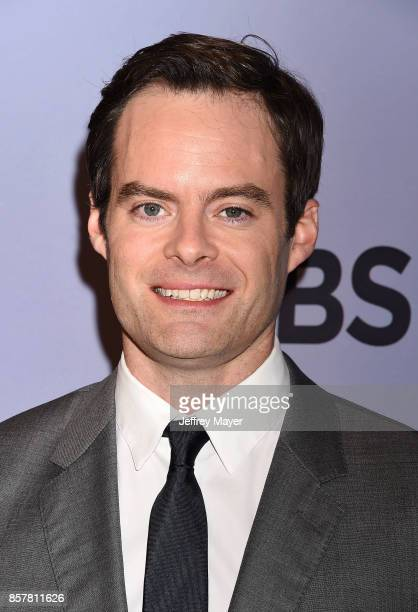 Actorcomedian Bill Hader attends the CBS' 'The Carol Burnett Show 50th Anniversary Special' at CBS Televison City on October 4 2017 in Los Angeles...