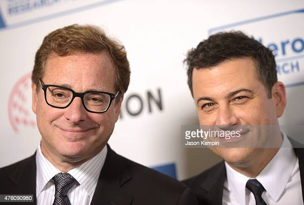 Actor/Comedian Bob Saget and TV personality Jimmy Kimmel attend the 'Cool Comedy Hot Cuisine' benefit at the Beverly Wilshire Four Seasons Hotel on...