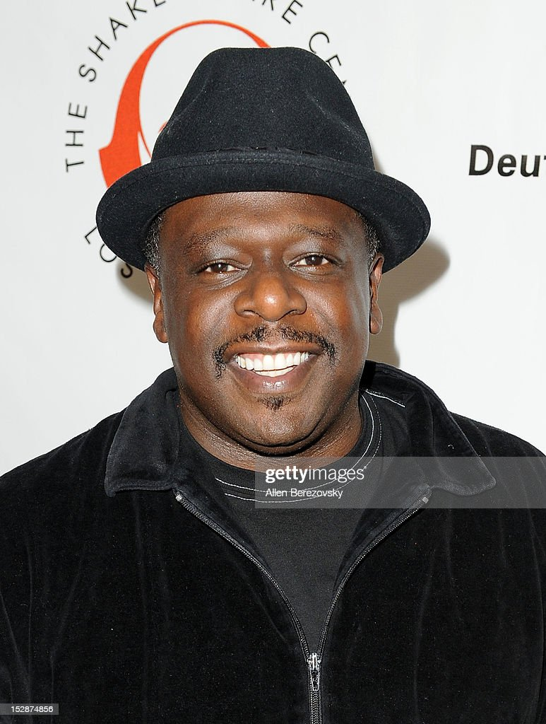 Actor/comedian Cedric the Entertainer attends the Shakespeare Center of Los Angeles' 22nd annual 'Simply Shakespeare' reading of 'A Midsummer Night's Dream' at Freud Playhouse, UCLA on September 27, 2012 in Westwood, California.