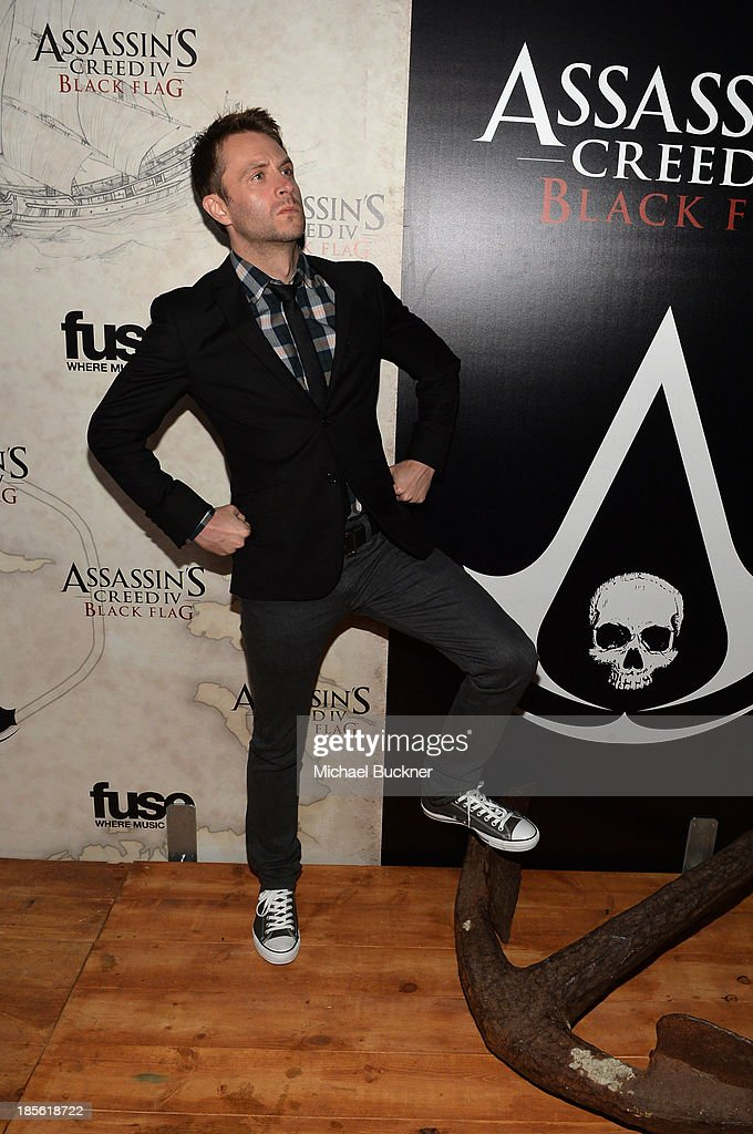 Actor/comedian Chris Hardwick attends the Assasin's Creed IV Black Flag Launch Party at Greystone Manor Supperclub on October 22, 2013 in West Hollywood, California.