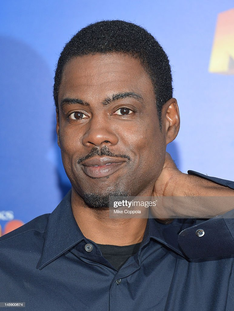 Actor/comedian <a gi-track='captionPersonalityLinkClicked' href=/galleries/search?phrase=Chris+Rock&family=editorial&specificpeople=202982 ng-click='$event.stopPropagation()'>Chris Rock</a> attends the 'Madagascar 3: Europe's Most Wanted' New York Premier at Ziegfeld Theatre on June 7, 2012 in New York City.