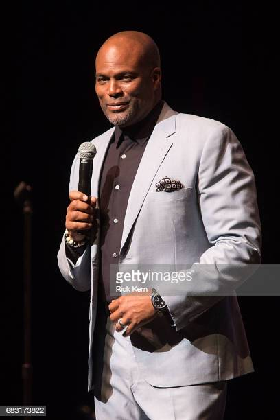 Actor/comedian Chris Spencer performs onstage during the Total Blackout Tour at Bass Concert Hall on May 14 2017 in Austin Texas