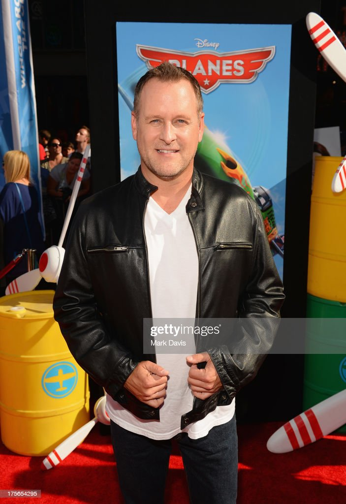 Actor/Comedian <a gi-track='captionPersonalityLinkClicked' href=/galleries/search?phrase=Dave+Coulier&family=editorial&specificpeople=665866 ng-click='$event.stopPropagation()'>Dave Coulier</a> attends the premiere of Disney's 'Planes' at the El Capitan Theatre on August 5, 2013 in Hollywood, California.