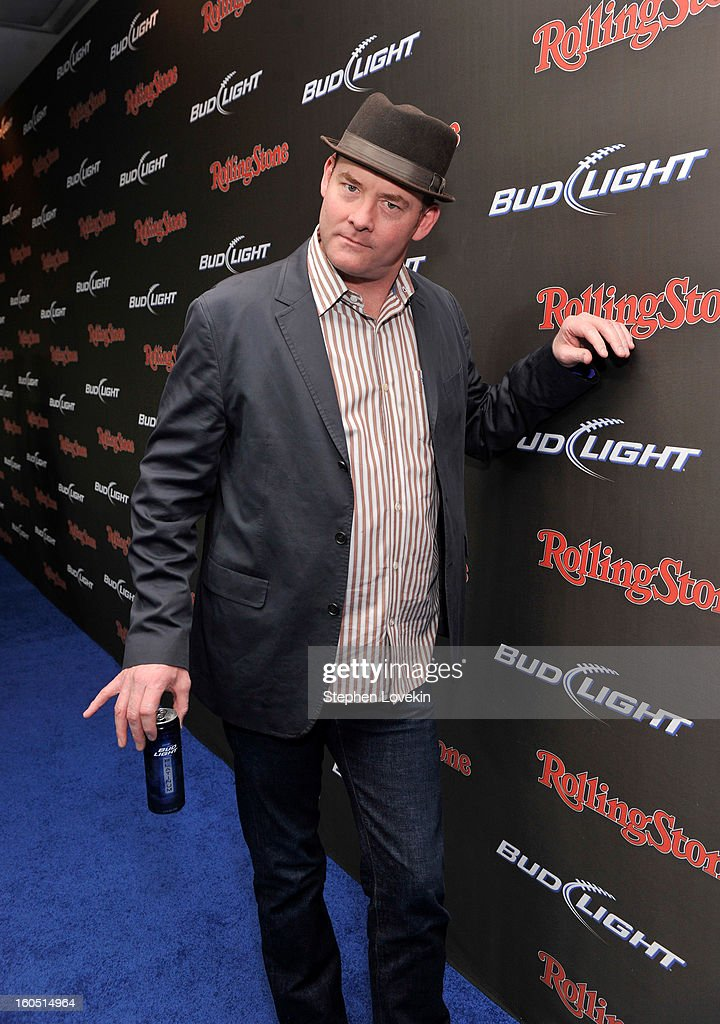 Actor/comedian <a gi-track='captionPersonalityLinkClicked' href=/galleries/search?phrase=David+Koechner&family=editorial&specificpeople=804105 ng-click='$event.stopPropagation()'>David Koechner</a> arrives at the Rolling Stone LIVE party held at the Bud Light Hotel on February 1, 2013 in New Orleans, Louisiana.