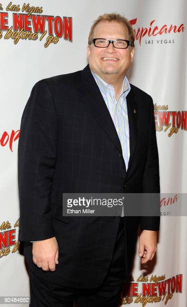 Actor/comedian Drew Carey arrives at the opening of Wayne Newton's limitedengagement production 'Once Before I Go' at the Tropicana Las Vegas October...