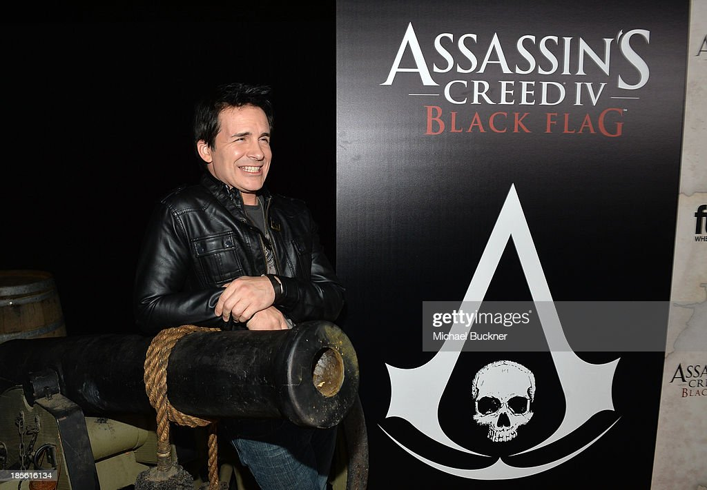 Actor/comedian Hal Sparks attends the Assasin's Creed IV Black Flag Launch Party at Greystone Manor Supperclub on October 22, 2013 in West Hollywood, California.